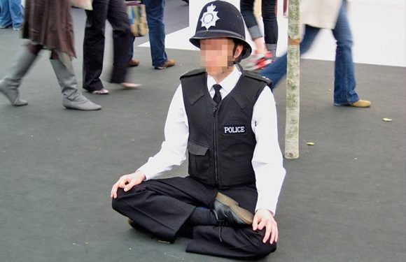Crime-hit cops are given TWO extra days off a year — to de-stress with yoga