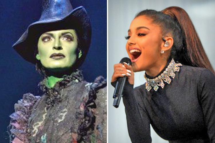Ariana Grande gets set to hit Broadway as she lands dream job as the witch in theatre extravaganza Wicked