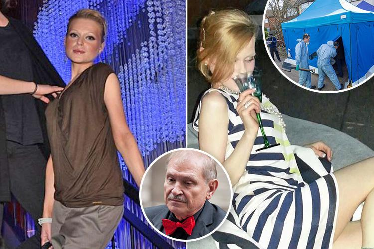 Nikolai Glushkov's 'traumatised' daughter Natalia is in hiding after finding his body with 'strangulation marks'