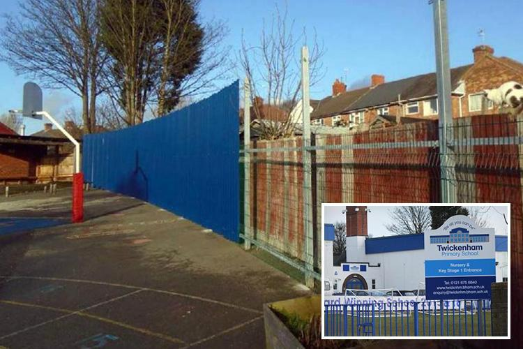 School forced to build 10ft playground fence after pupils as young as four were 'threatened and intimidated' by local yobs