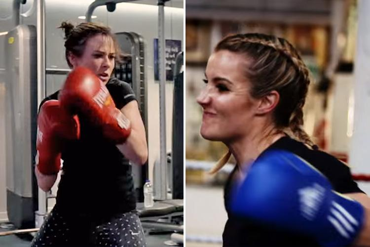 Love Island's Camilla Thurlow to fight Helen Skelton in the boxing ring for Sports Relief