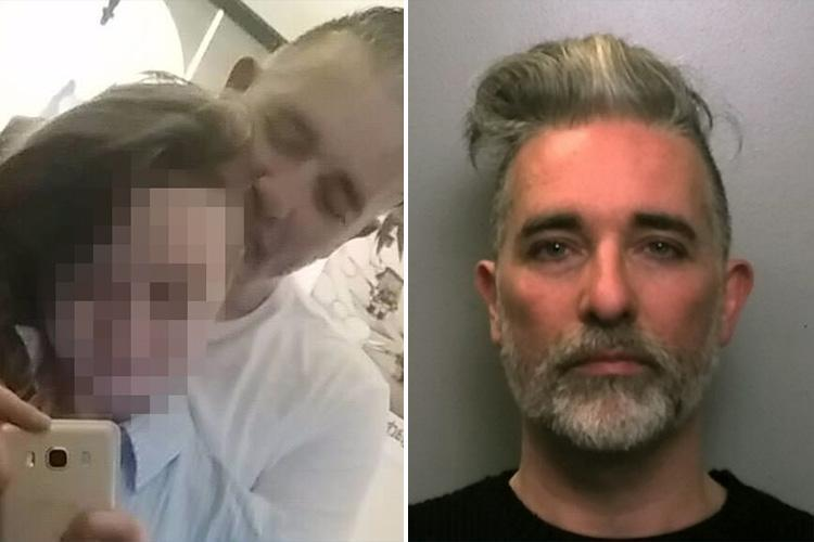 17-year-old girl who vanished with Stuart Lymer, 45, tried to slash her throat in back of police van
