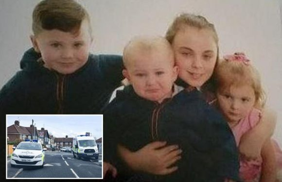 Four children who vanished in Liverpool yesterday afternoon found 'safe and well'