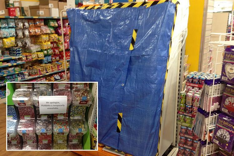 Pick n Mix pulled from sale around Devon after sweets were 'sprayed with bleach in Poundland'