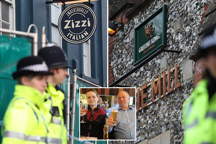 Health scare as 500 people told to wash their clothes, phones and glasses a week after nerve agent attack on Russian spy Sergei Skripal
