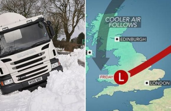 UK weather forecast warns of MORE snow and freezing -10C windchill as Easter set for travel chaos