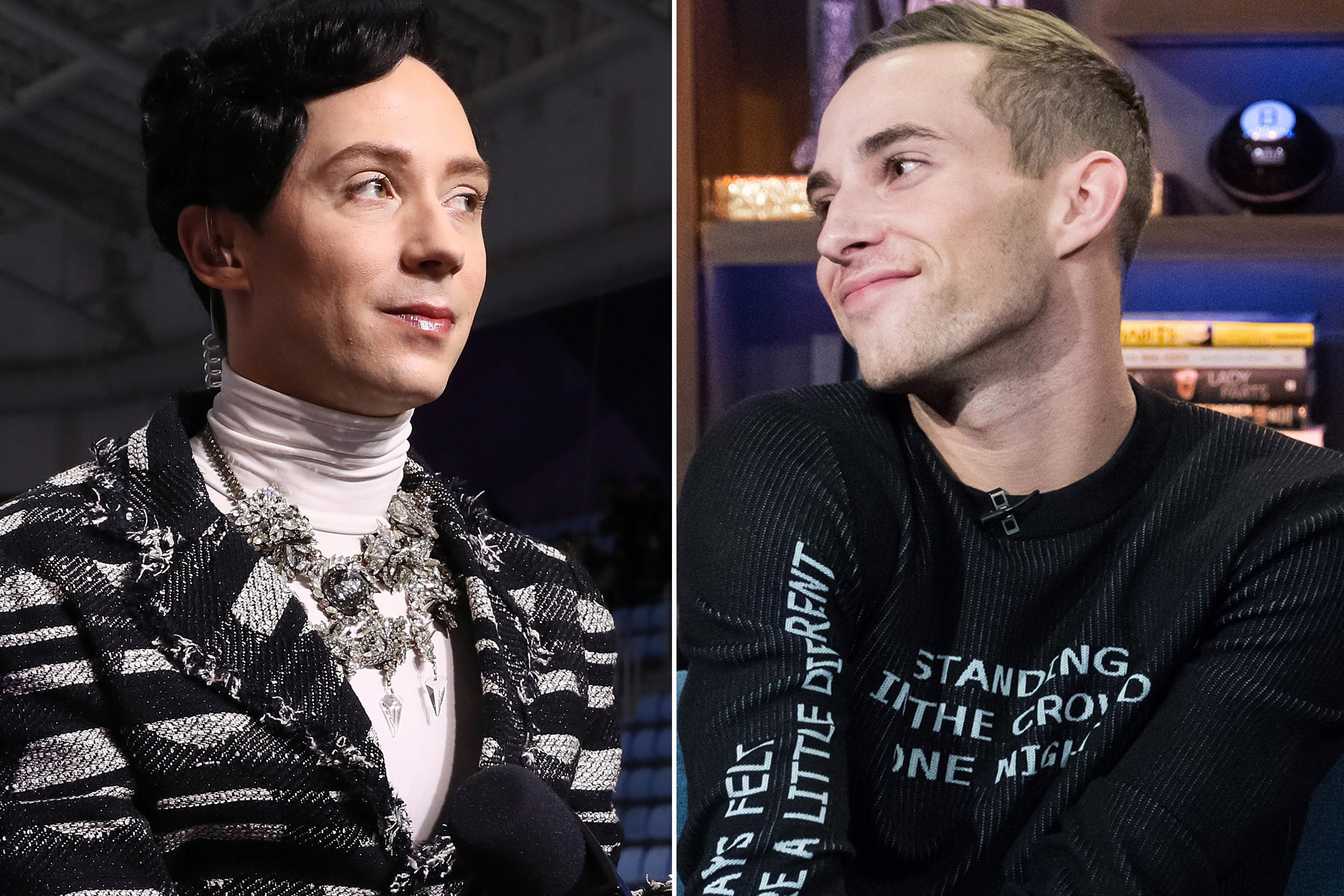 Adam Rippon admits Johnny Weir might be jealous of him