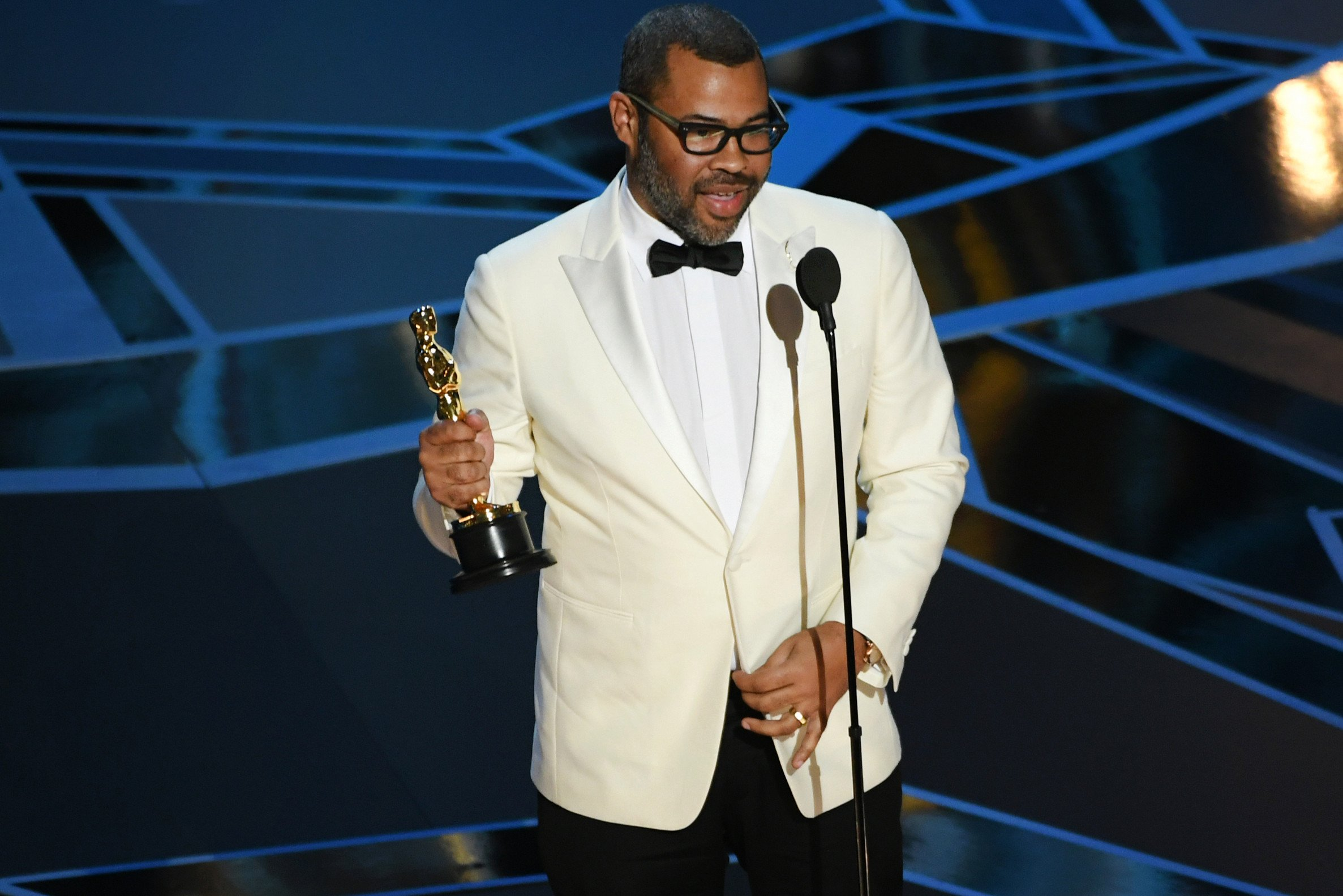 Jordan Peele makes history with 'Get Out' win
