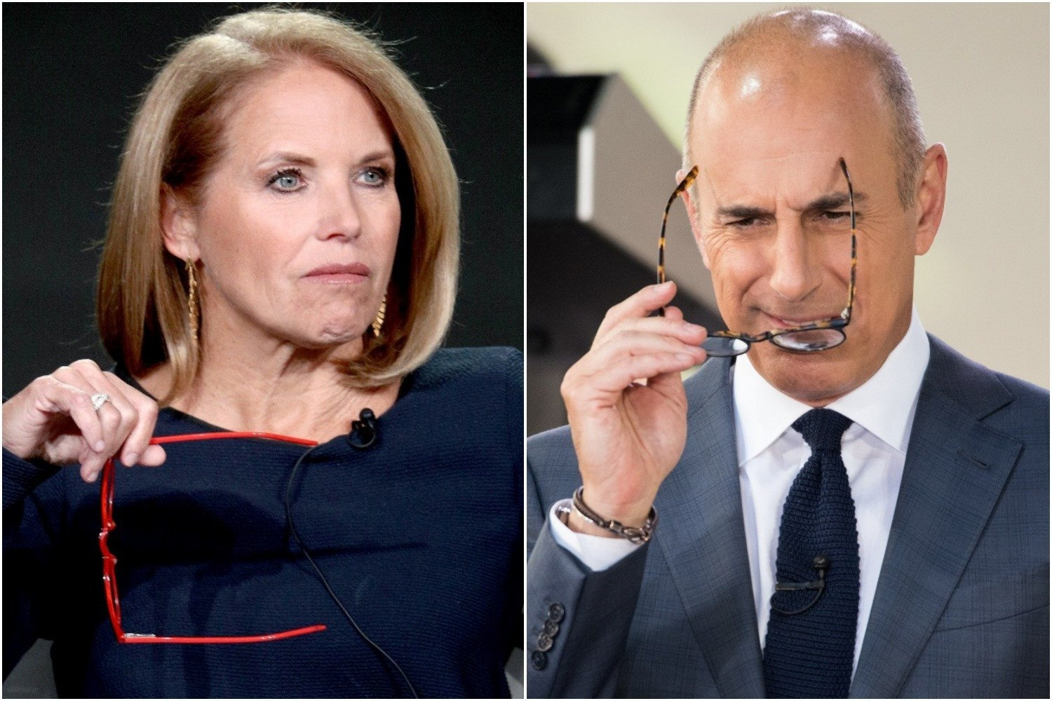 Katie Couric hopes Matt Lauer has learned his lesson
