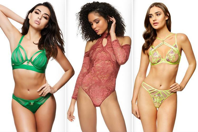 Ann Summers have unveiled their VERY saucy spring collection… and it'll make you forget how cold it is outside