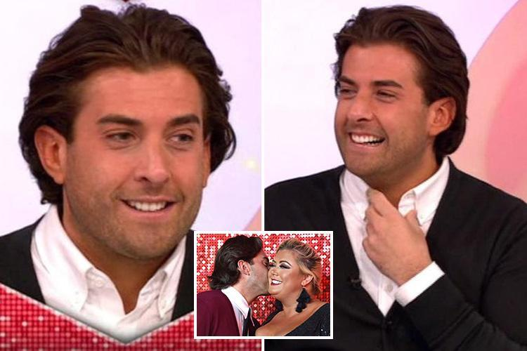 Towie's James Argent asks Gemma Collins out on a date live on Loose Women and denies it's all a showmance