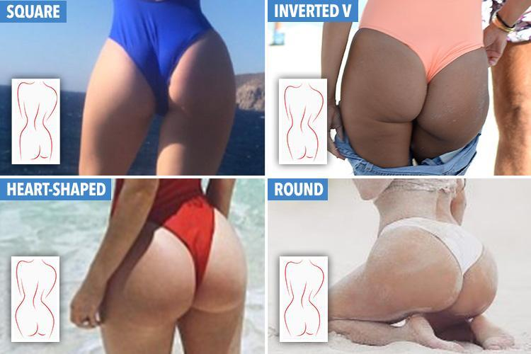 These are the best exercises to get a peachy bum based on your body type . . . but which shape are YOU?