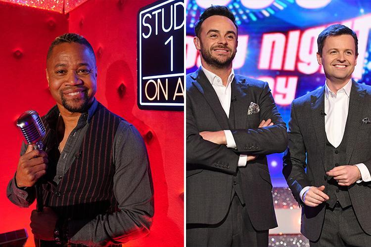 Cuba Gooding Jr claims Ant McPartlin was 'great' behind the scenes of Saturday Night Takeaway just weeks before his drink-drive shame