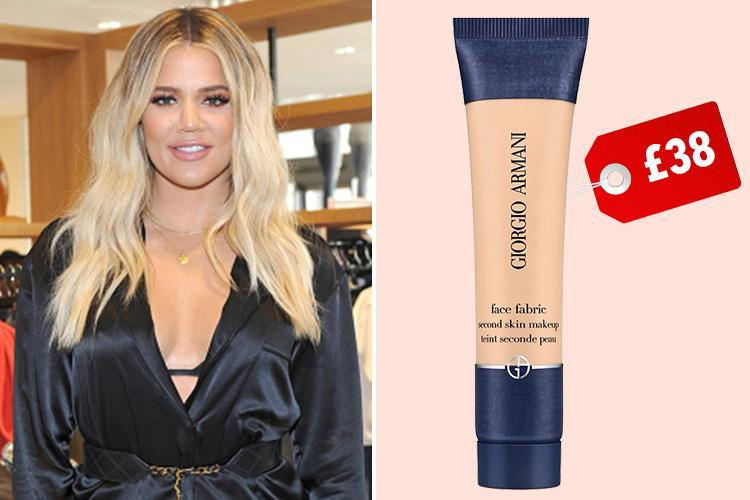 Khloe Kardashian's favourite discontinued foundation has just made a comeback… and it costs £38