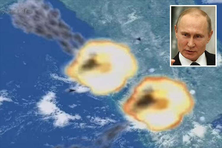 Footage of Putin's terrifying new 'unstoppable' missile is from 2007 Russian documentary about Soviet-era missile