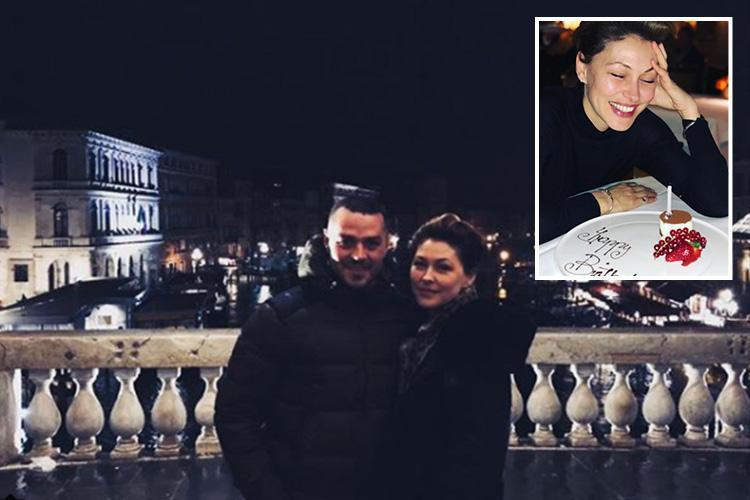 Emma Willis reveals husband Matt took her back to the bridge in Venice where he proposed to celebrate the 11th anniversary of their engagement
