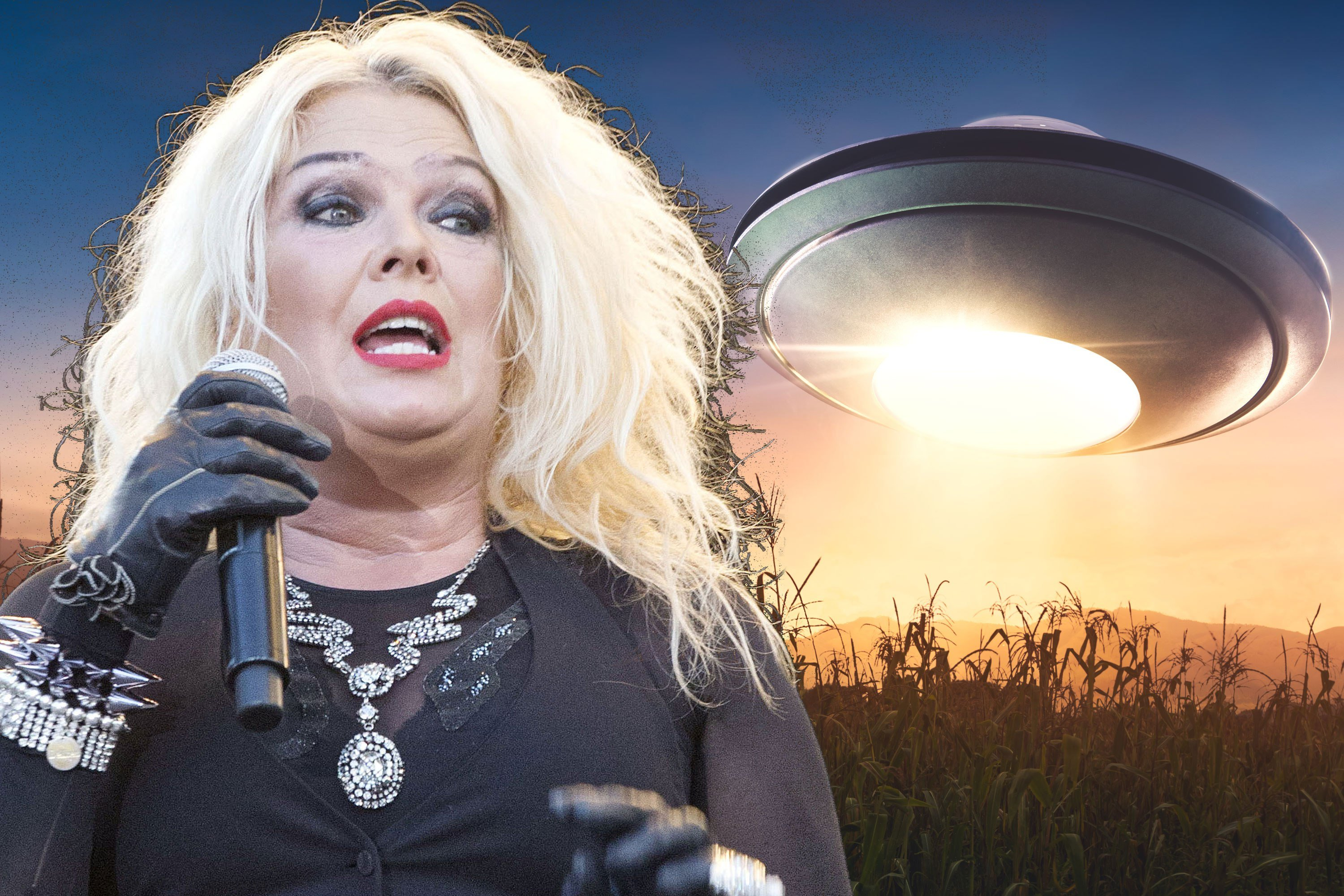 'Kids in America' singer returns to music because of UFOs