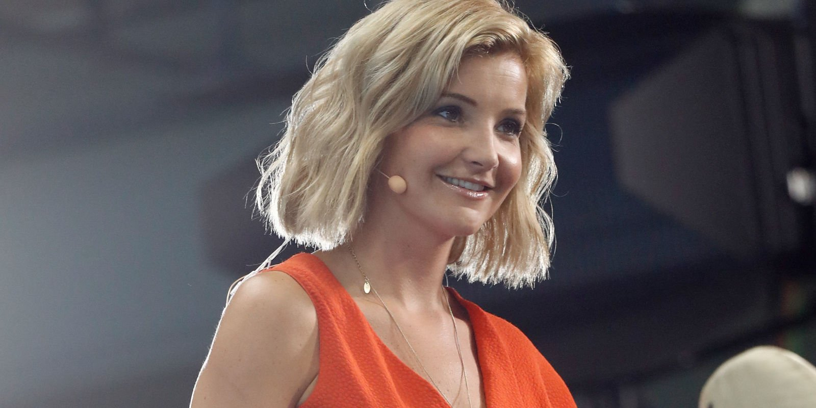 """BBC presenter Helen Skelton laughs off reports of being """"axed"""" over Olympics dress controversy"""