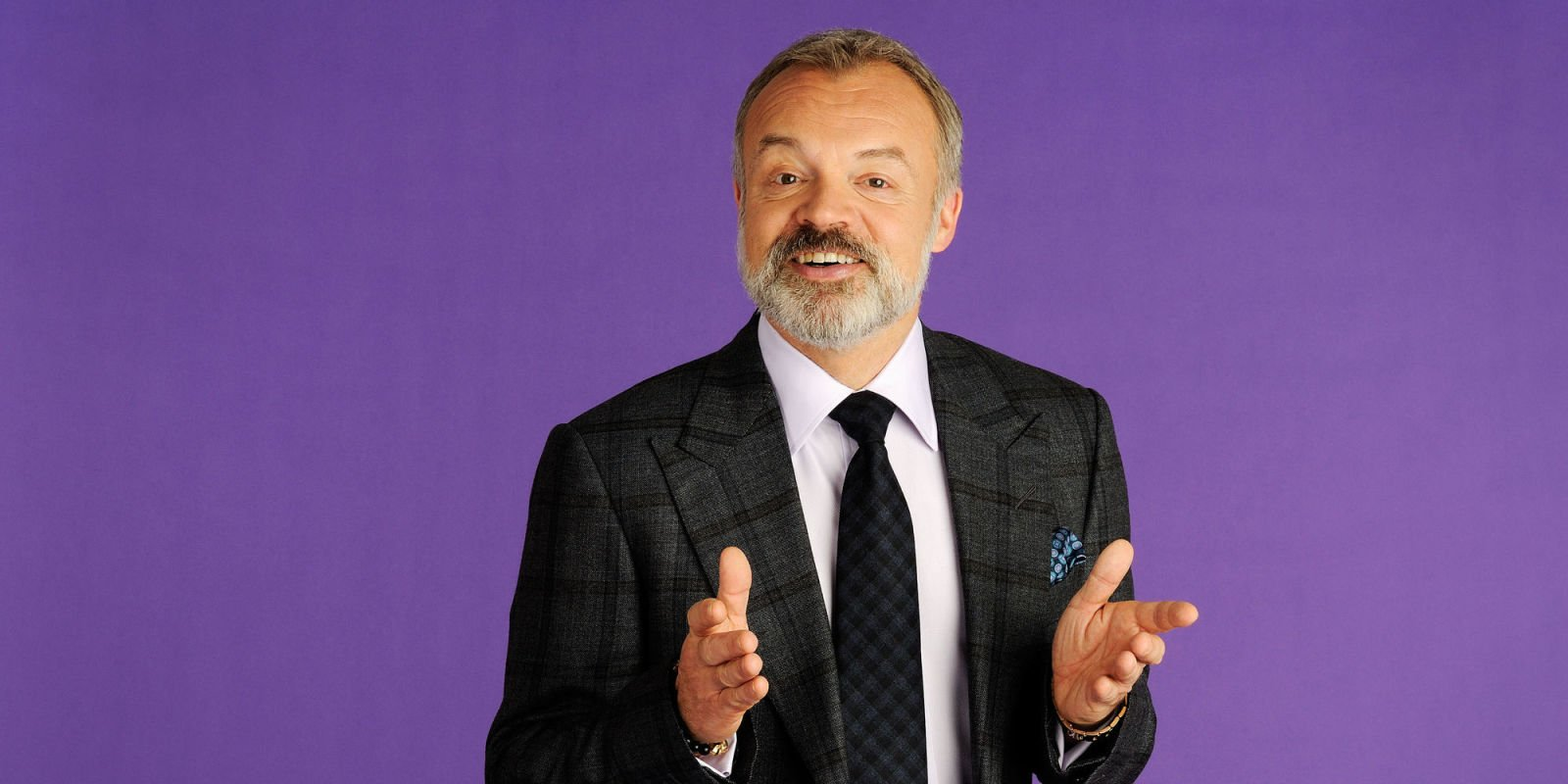 Graham Norton is forced to miss his Saturday morning radio show after the snow leaves him stuck in Ireland