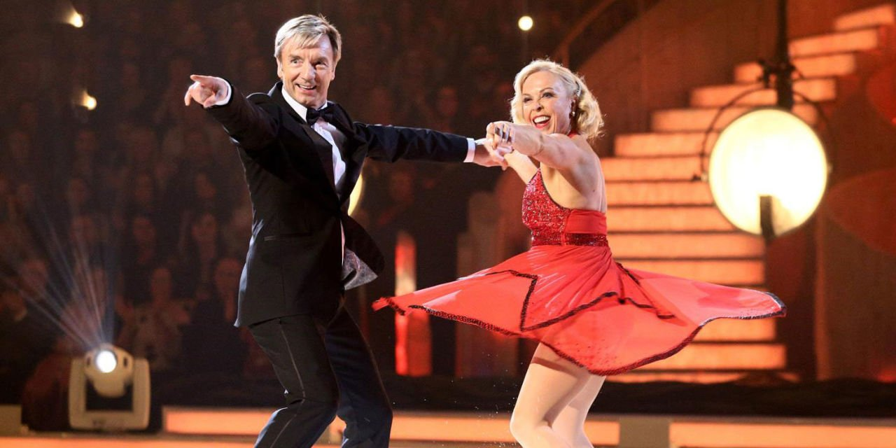 Dancing on Ice's Torvill and Dean getting their own ITV biopic