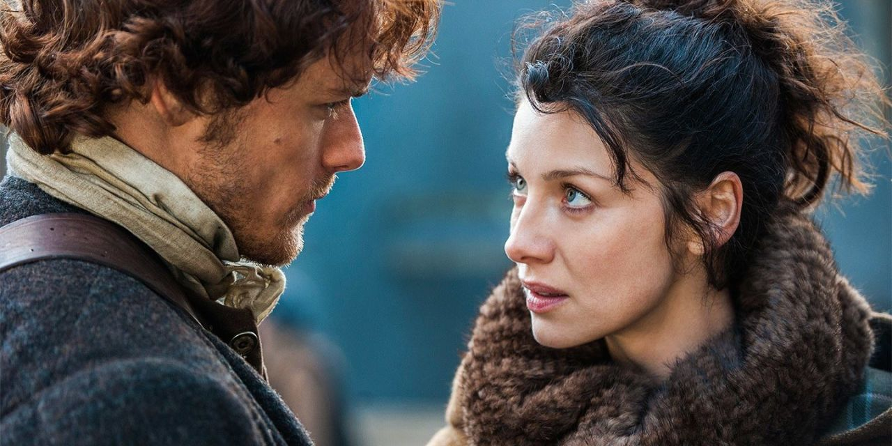 Outlander producer addresses book-to-TV changes and reveals how Beast from the East stopped filming