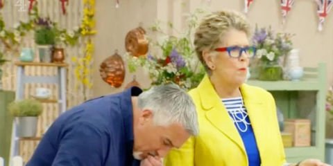 This celebrity just baked the 'worst cake in the history of the Bake Off', apparently