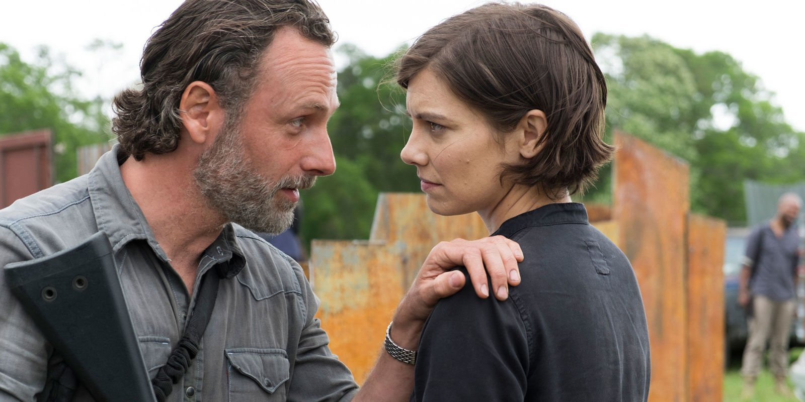 "The Walking Dead's Andrew Lincoln ""would be surprised"" if Lauren Cohan didn't appear as Maggie in season 9"