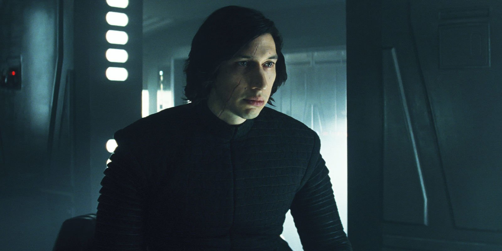 The Last Jedi director says Rey and Kylo's hand-touching is 'closest thing to a sex scene in a Star Wars movie'