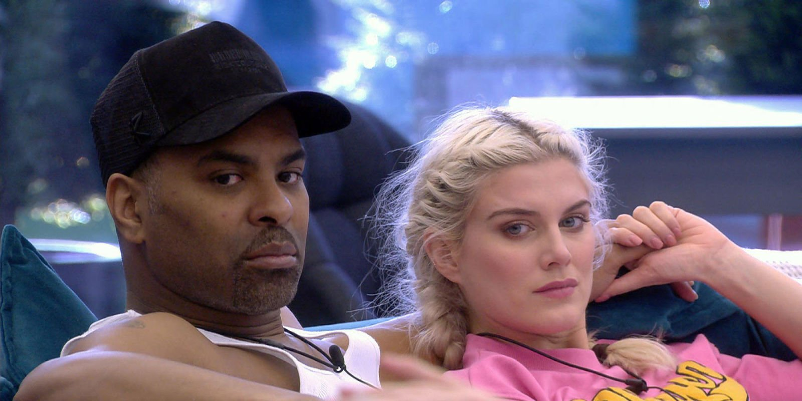 Celebrity Big Brother's Ashley James reveals she doesn't speak to Ginuwine anymore