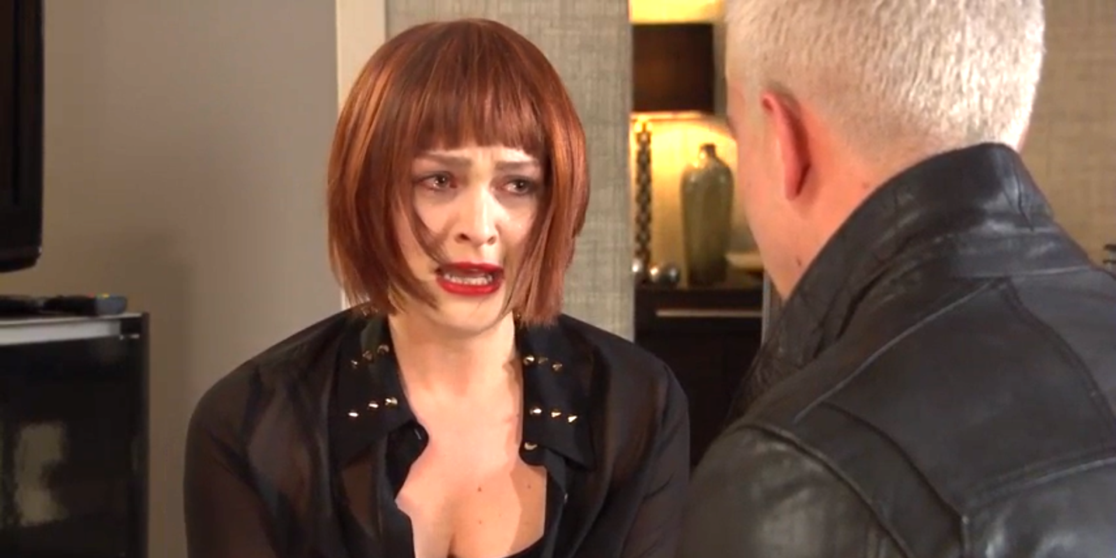 Hollyoaks' Sienna Blake tells a shocking cancer lie in the fight for Joel Dexter