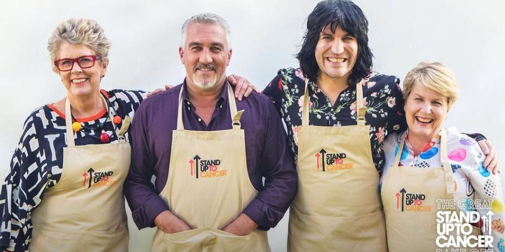 The Great Celebrity Bake Off was a glorious celebration of cooking catastrophe