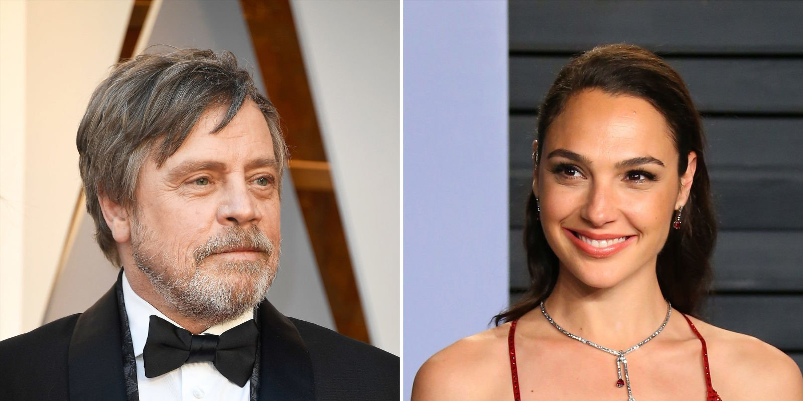 Wonder Woman met Luke Skywalker at the Oscars and fans are obsessed