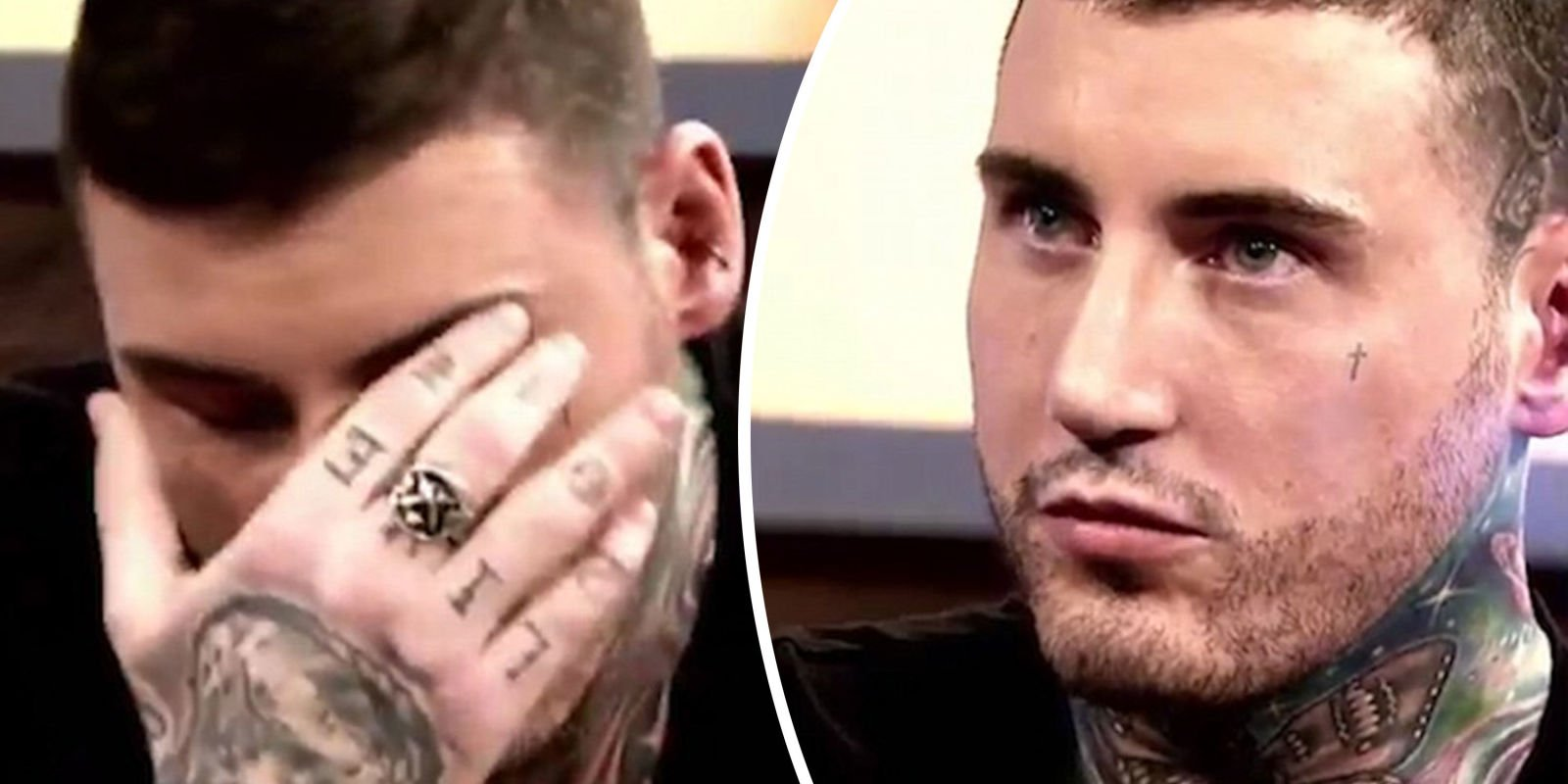 "Jeremy McConnell gets teary on The Jeremy Kyle Show as he's grilled about being a ""good father"""