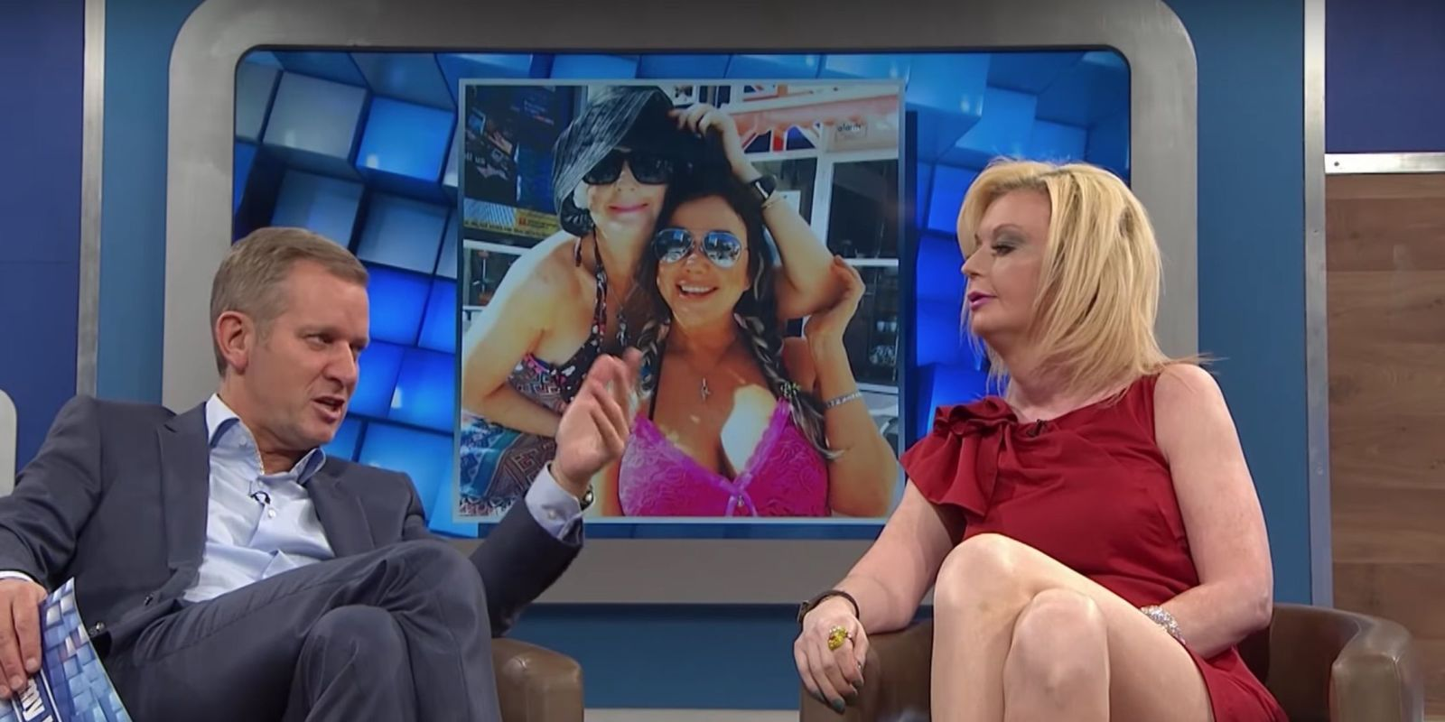 Big Brother's Lauren Harries and Lisa Appleton row on The Jeremy Kyle Show after holiday in Benidorm