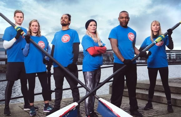 Sara Cox and Team BBC sail past Ferne McCann and Team ITV to win Sport Relief's Clash of the Channels race