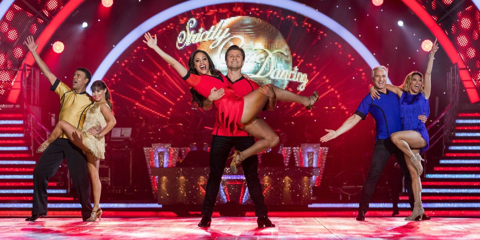 Strictly Come Dancing crowns footballer Alex Scott as its Sport Relief 2018 champion