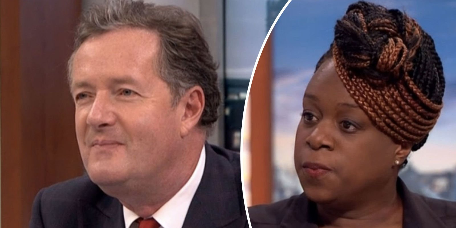 EastEnders star Tameka Empson flirts up a storm with Piers Morgan on Good Morning Britain