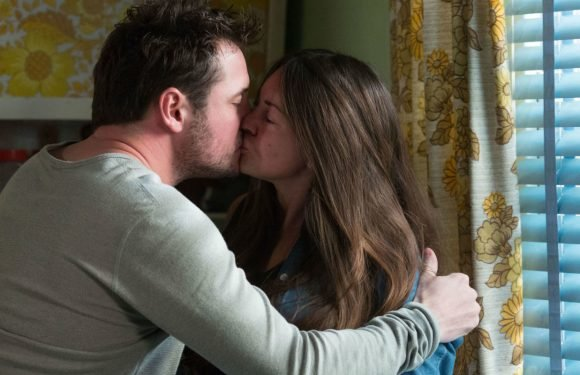 EastEnders' Stacey Slater falls into Martin Fowler's comforting arms after family tragedy