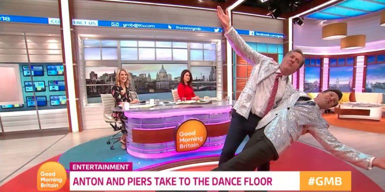 """Piers Morgan says he's """"ready"""" for Strictly Come Dancing 2018 after rehearsal with Anton du Beke"""