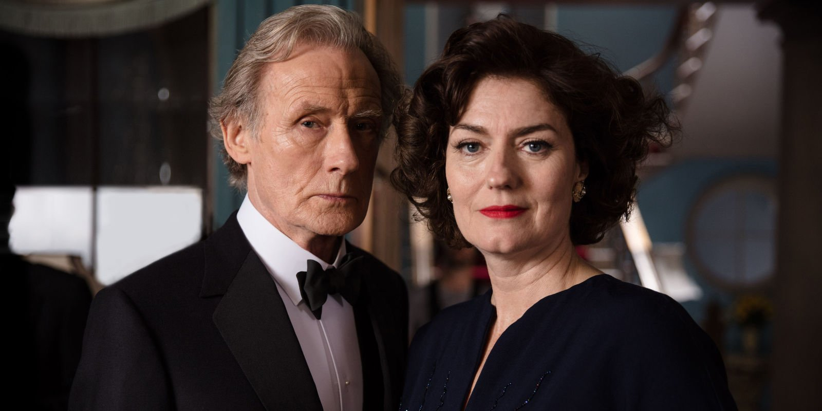 """Ordeal by Innocence's Morven Christie says her """"resting bitch face"""" is meant to deceive viewers in murder mystery"""