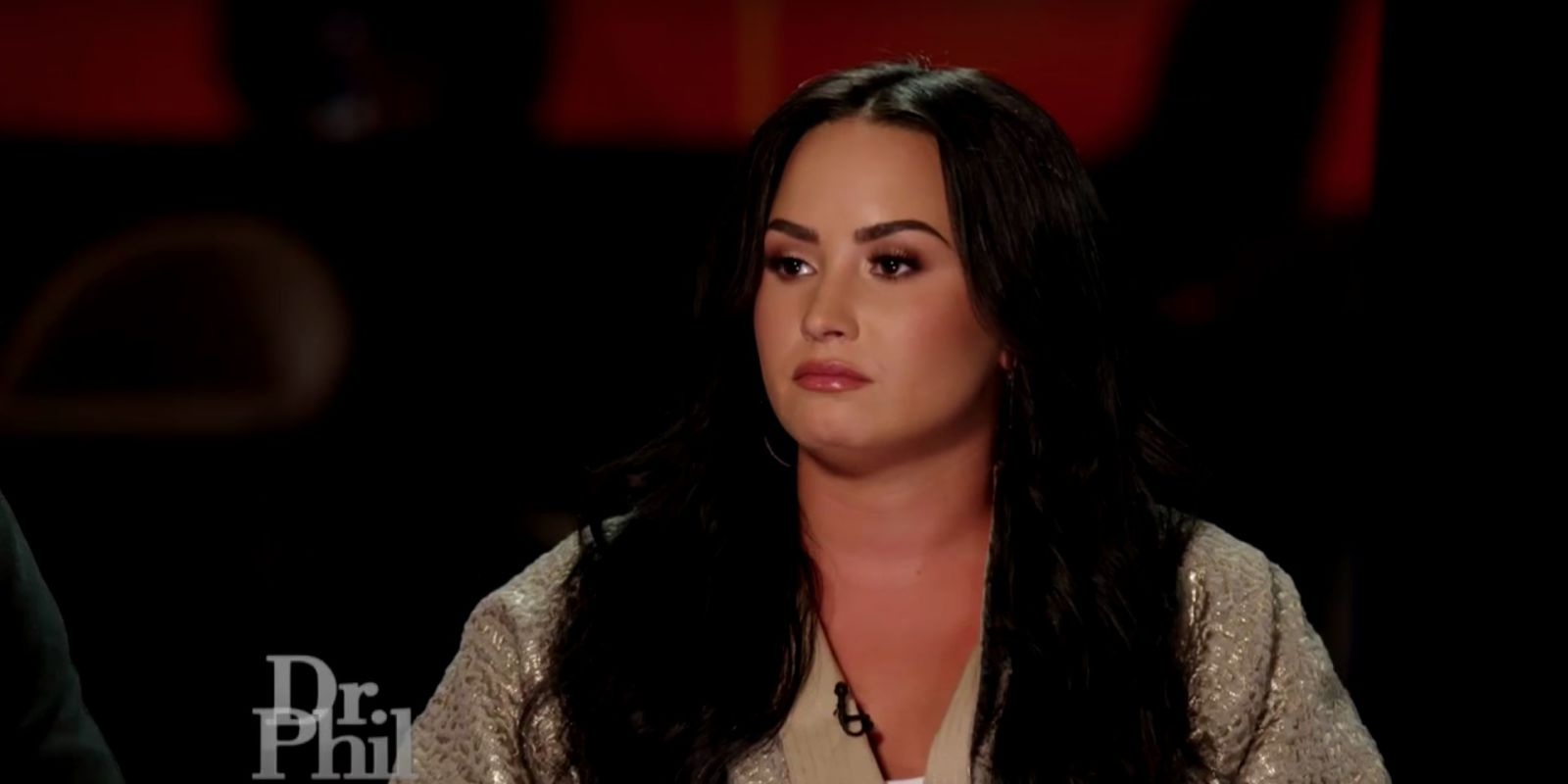 Demi Lovato offers support for people with suicidal thoughts in moving TV interview