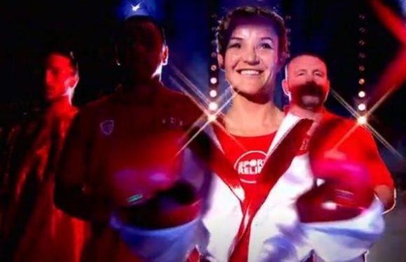 Helen Skelton hits back at critics of her Sport Relief boxing match