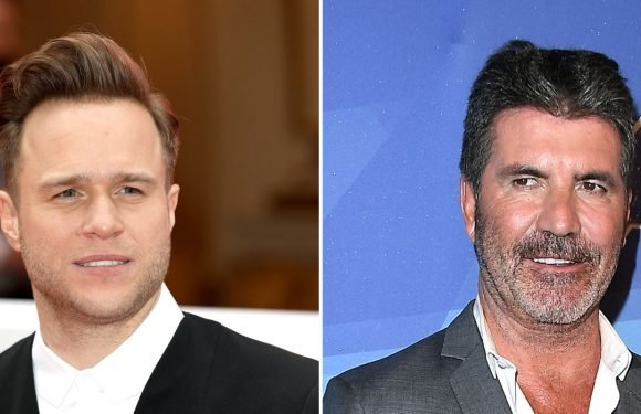 The Voice UK's Olly Murs responds to rumours he's feuding with Simon Cowell
