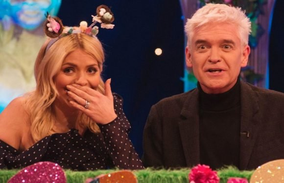 Phillip Schofield gets VERY naughty as he joins This Morning co-host Holly Willoughby on Celebrity Juice