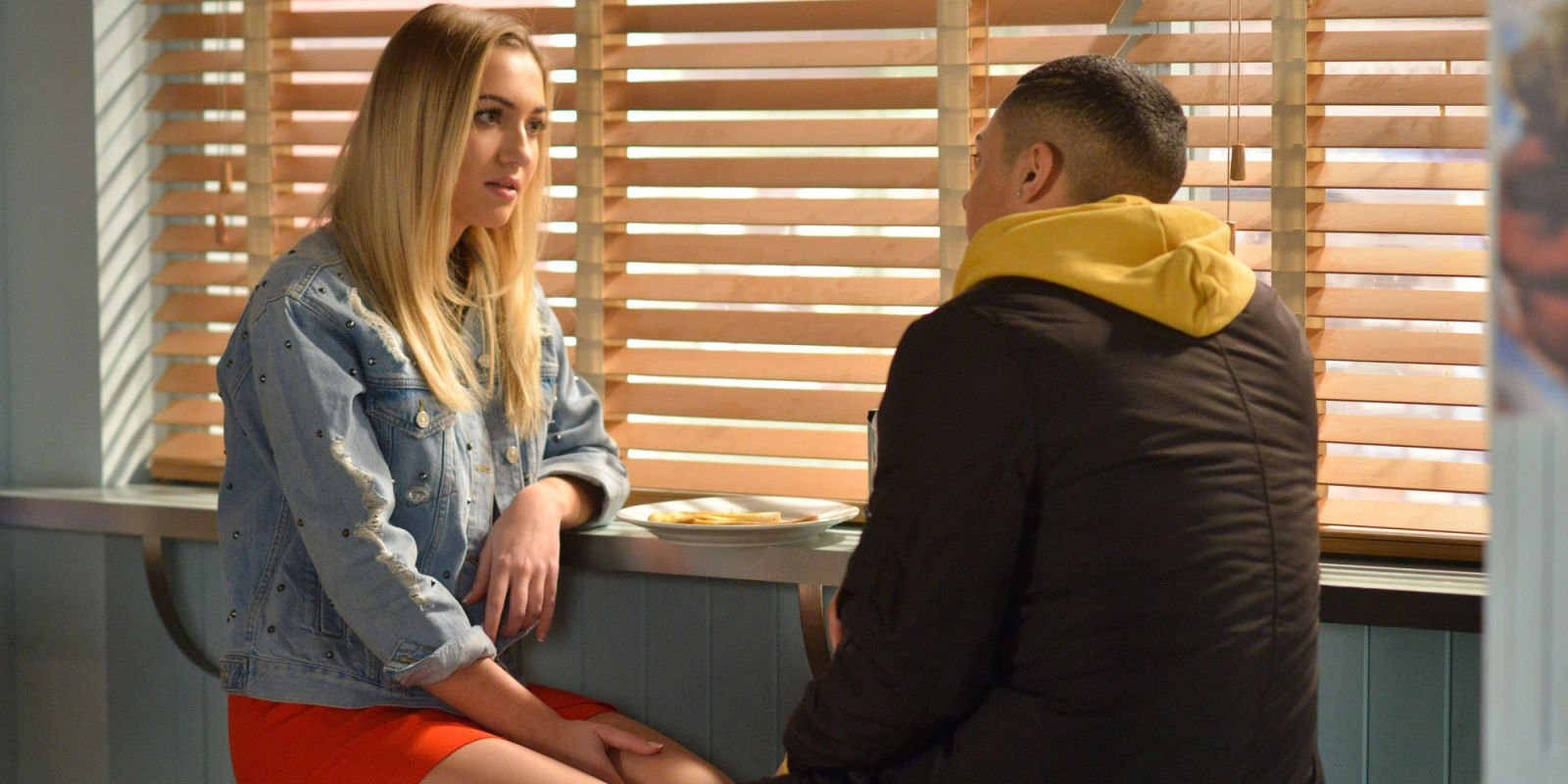 EastEnders passion for Louise Mitchell and Hunter Owen as they grow closer