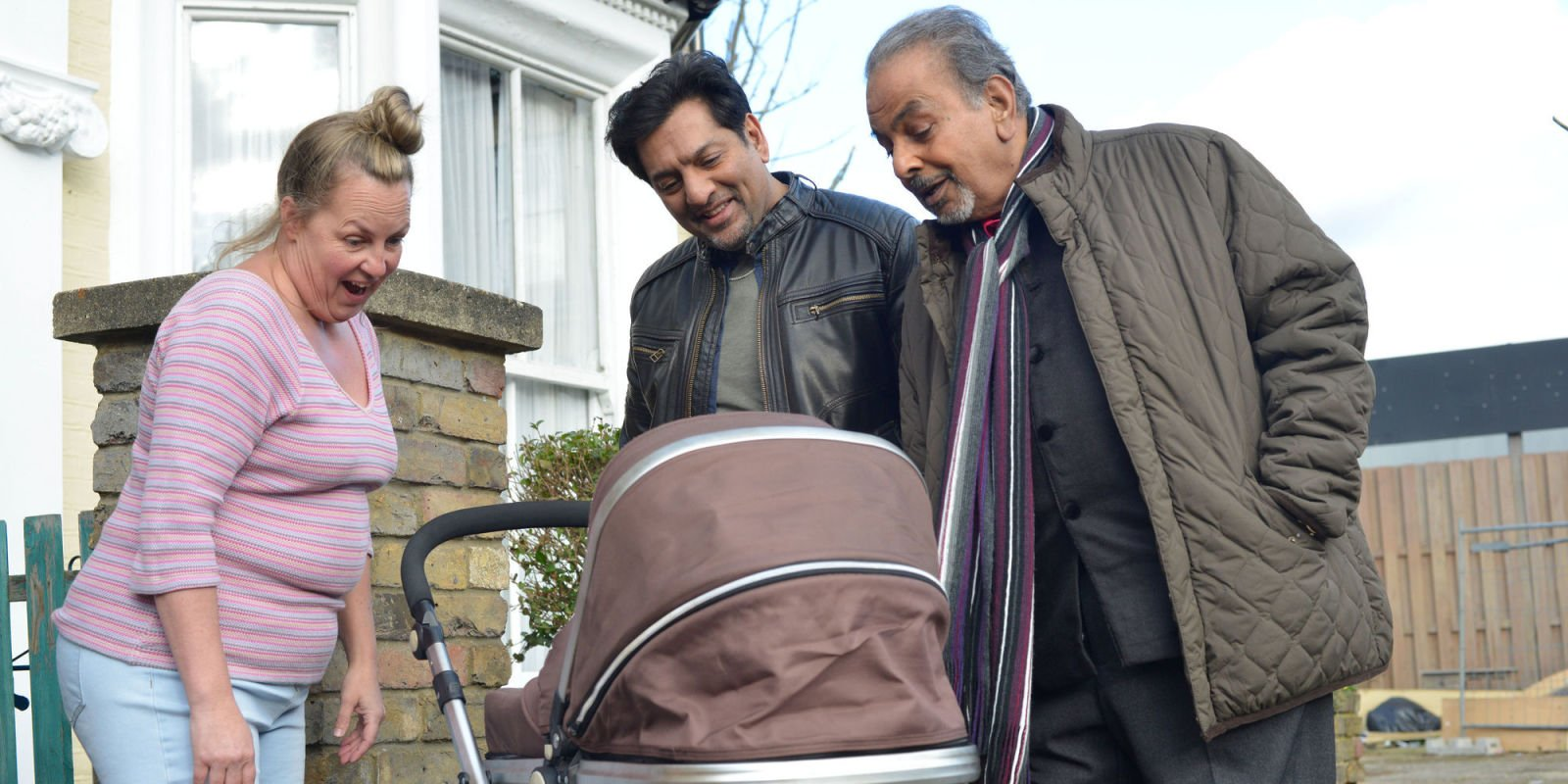 EastEnders is lining up baby drama for Arshad and Mariam Ahmed next week