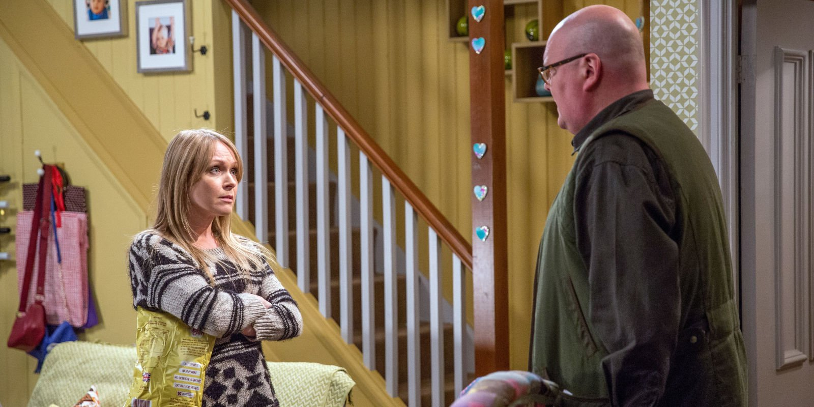 Emmerdale horror for Vanessa Woodfield tonight as she blames herself for Lisa nearly dying