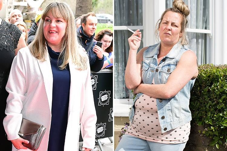 EastEnders' Lorraine Stanley looks dramatically different to her character Karen Taylor on TRIC Awards red carpet