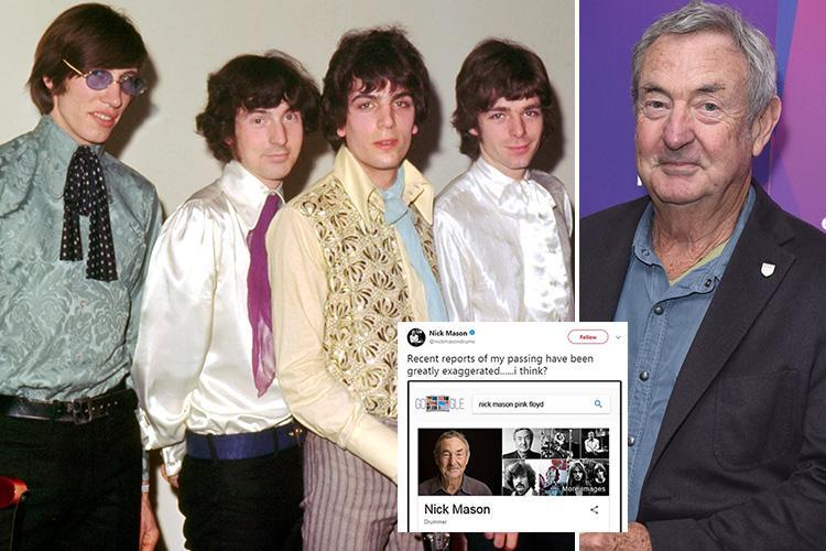 Pink Floyd drummer Nick Mason says internet rumours of his death 'greatly exaggerated' after RIP Facebook page gets 1million likes
