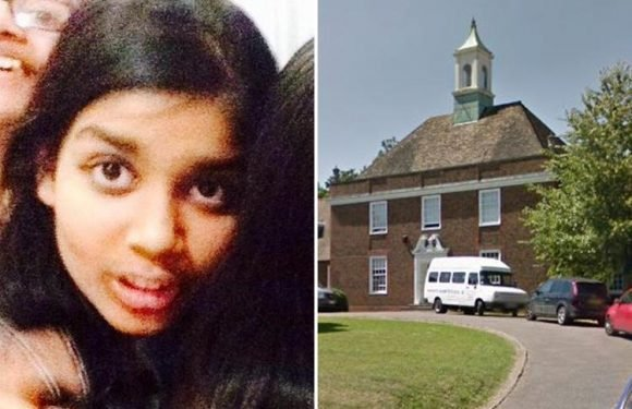 Parents of girl, 14, found hanged in woods at top school 'feared she had been bullied'